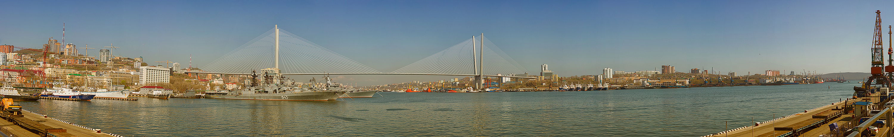 Golden Horn Bay, Vladivostok